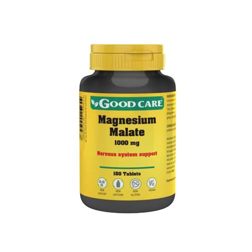 Magnesium Malate 1000mg - 180 Comprimidos Good Care