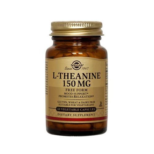 L-Teanina 150mg - 60 Cápsulas Solgar