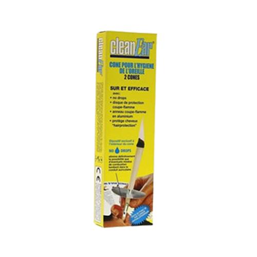 CleanEar Vela para Higiene do Ouvido 2 Velas Diética