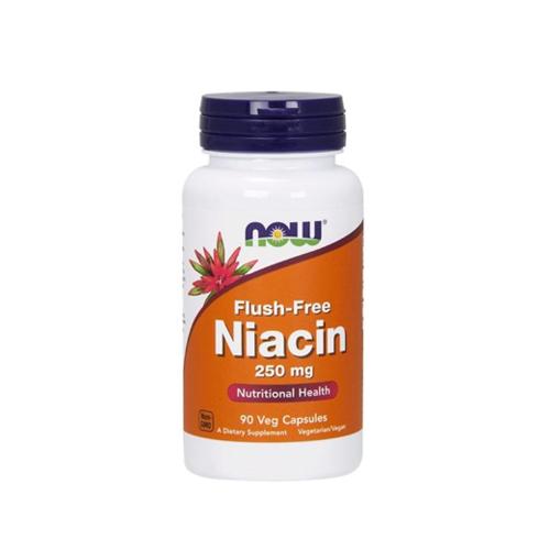 Niacin Flush Free 250mg - 90 Cápsulas Now