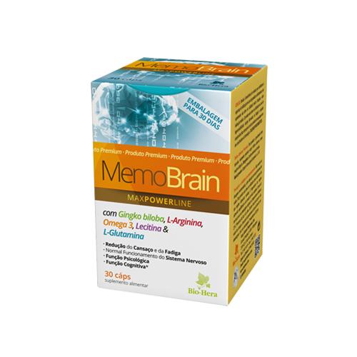 Memo Brain 30 Cápsulas Bio-Hera
