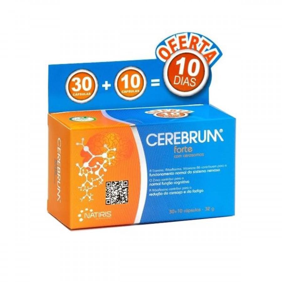 Cerebrum Forte com Cerosomas 30+10 Cápsulas Natiris