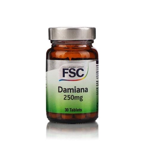 Damiana 250mg - 30 Comprimidos FSC