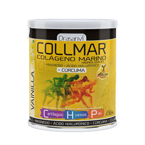 Collmar Colagénio Magnésio Cúrcuma - Baunilha 300g Drasanvi
