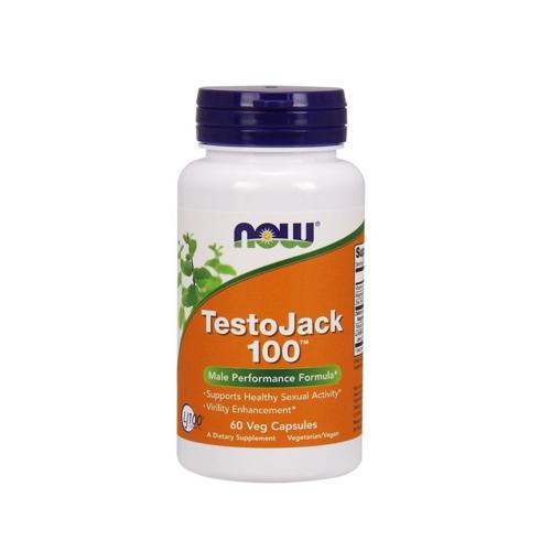 TestoJack 100  - 60 Cápsulas Now