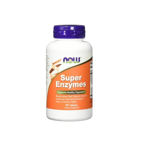 Super Enzymes - 90 Comprimidos Now