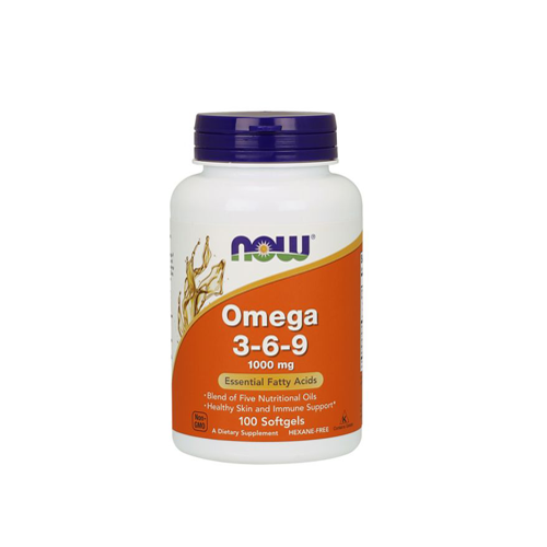 Omega 3-6-9 1000mg - 100 Cápsulas Now