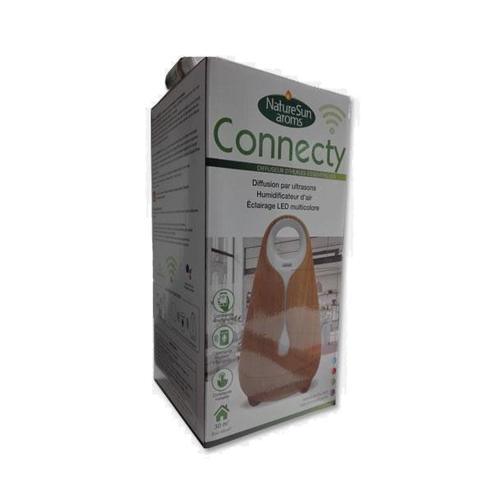 Difusor Connecty de Óleos Essenciais - Madeira Natural Farmoplex