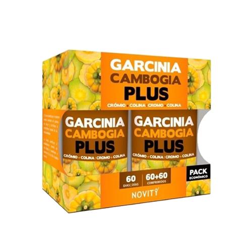 Pack Garcinia Cambogia Plus - 60 + 60 Comprimidos Novity
