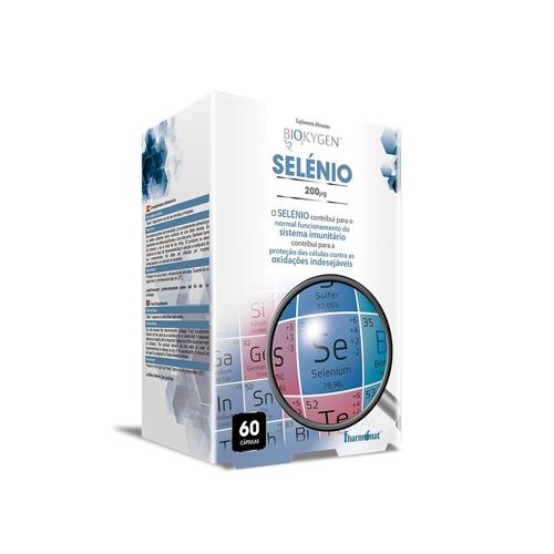 Biokygen Selénio 200ug - 60 Cápsulas Fharmonat