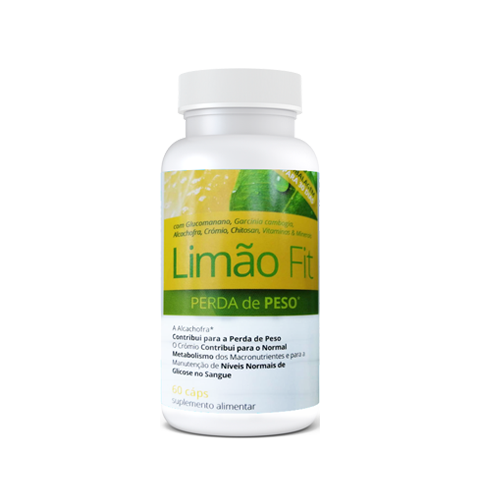 Limão Fit - 60 Cápsulas