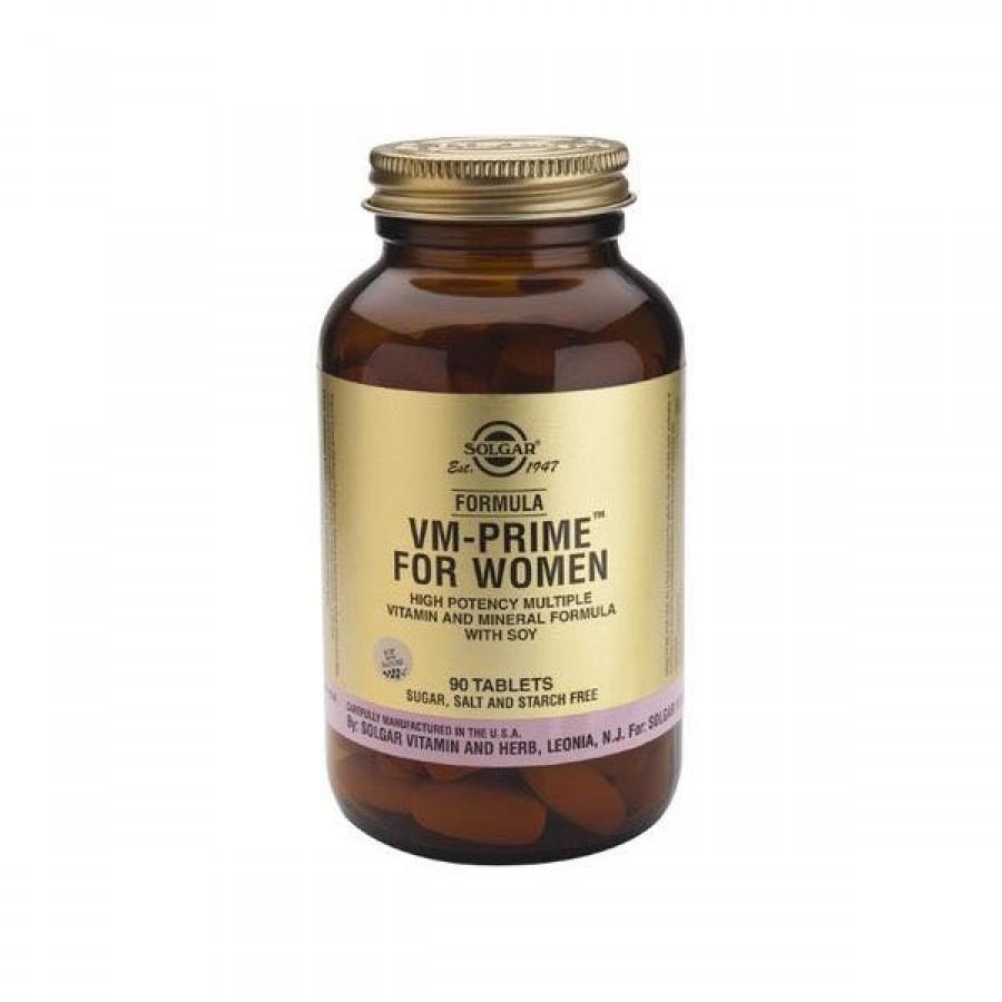 VM Prime Mulher 90 Comprimidos Solgar