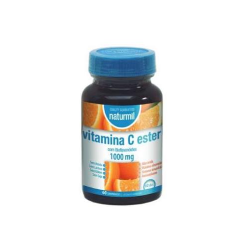Vitamina Ester-C 1000mg - 60 Comprimidos Naturmil