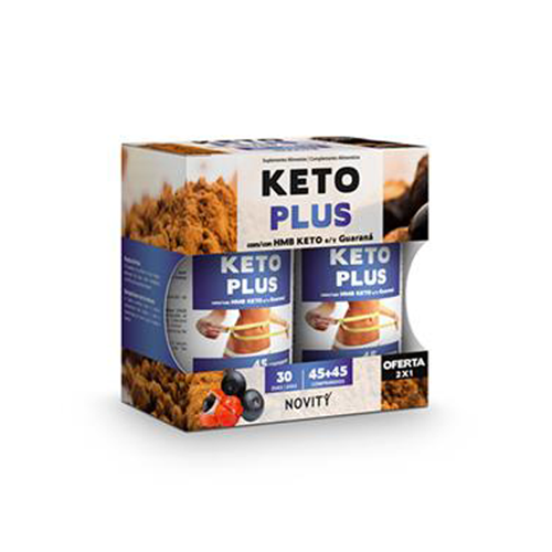 Keto Plus 45+45 Comprimidos Novity