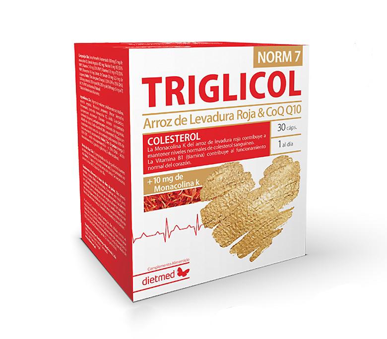 Triglicol Norm 7 - 30 Cápsulas Dietmed