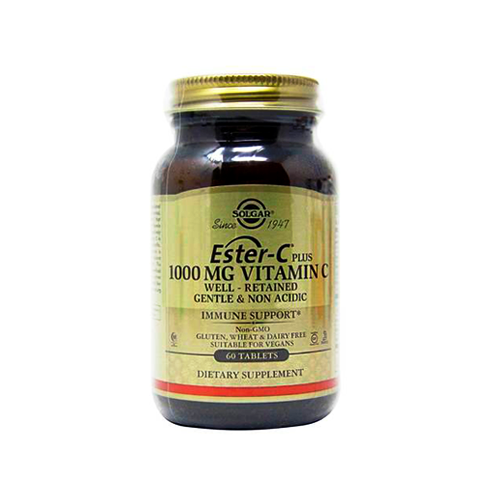 Ester-C Plus Vitamina C 1000mg - 60 Comprimidos Solgar