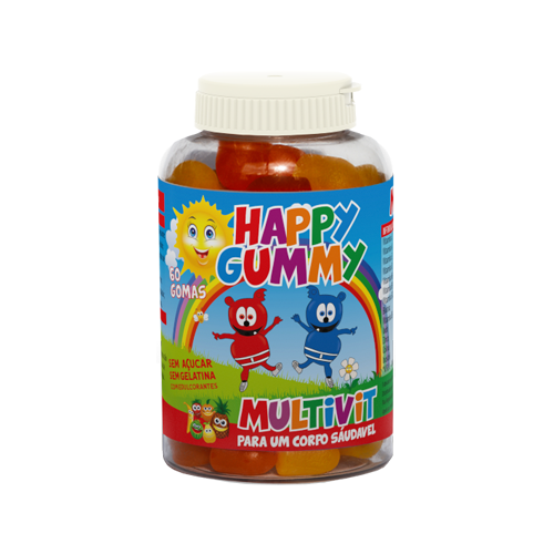 Happy Gummy Multivit - 60 Gomas Natiris