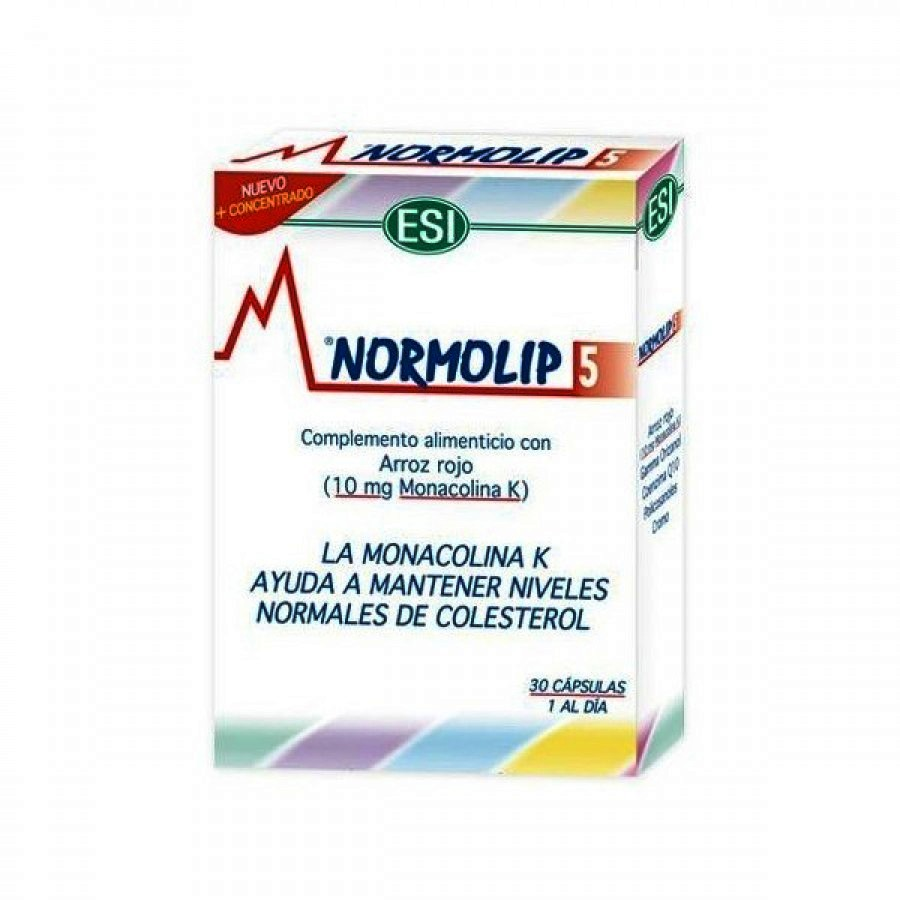 Normolip 5 - 30 Cápsulas ESI