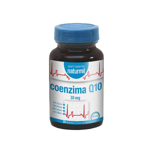 Coenzima Q10 30mg - 30 Cápsulas Naturmil