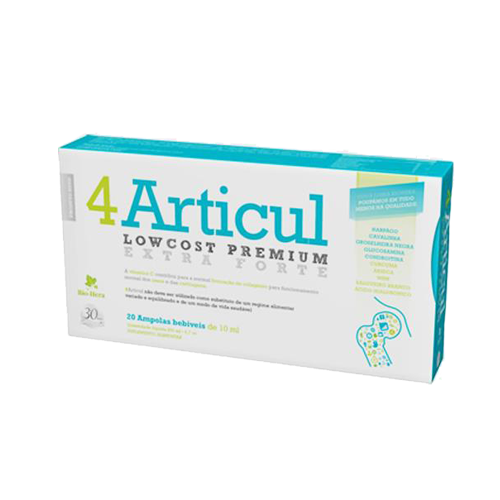4 Articul - 20 Ampolas Bio-Hera