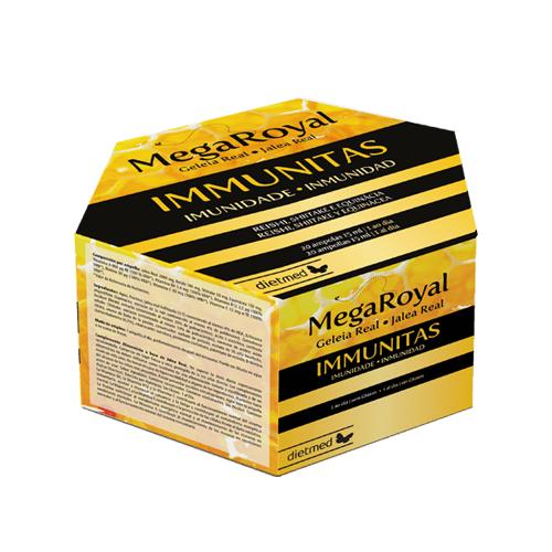 Mega Royal Immunitas 20 ampolas Dietmed