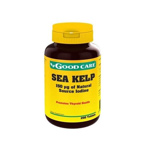 Sea Kelp 250 Comprimidos Good Care