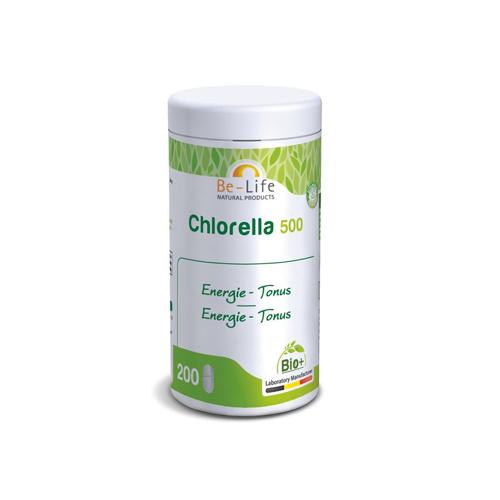 Chlorella 500 Bio - 200 Comprimidos Be-Life
