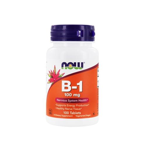 Vitamina B1 (Tiamina) 100mg - 100 Cápsulas Now