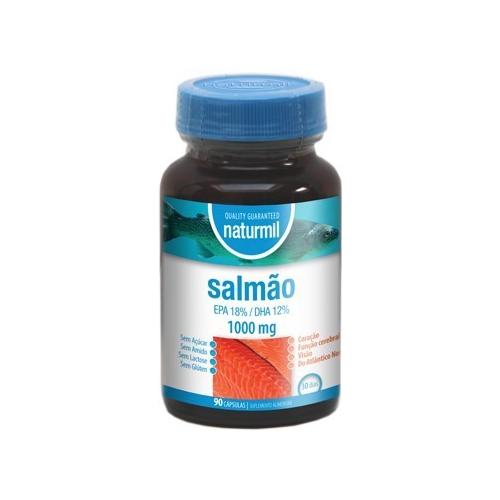 Salmão 1000mg - 90 Cápsulas Naturmil