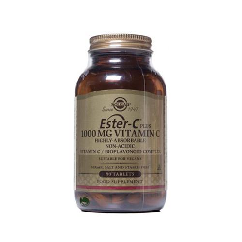 Ester-C Plus Vitamina C 1000mg - 90 Comprimidos Solgar