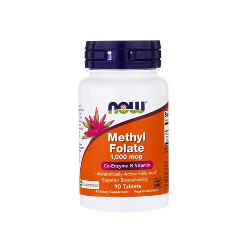 Methyl Folate 1,000mcg - 90 Comprimidos Now