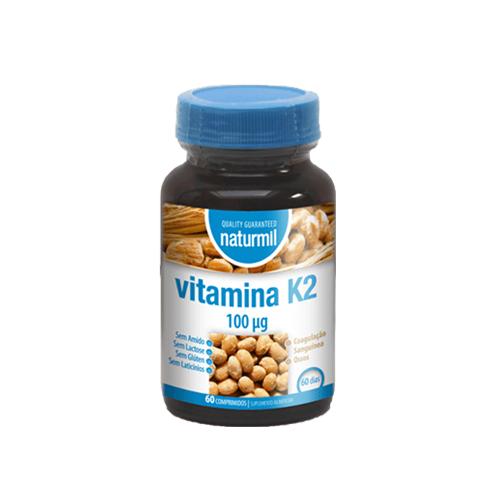 Vitamin K2 60 Comprimidos Naturmil