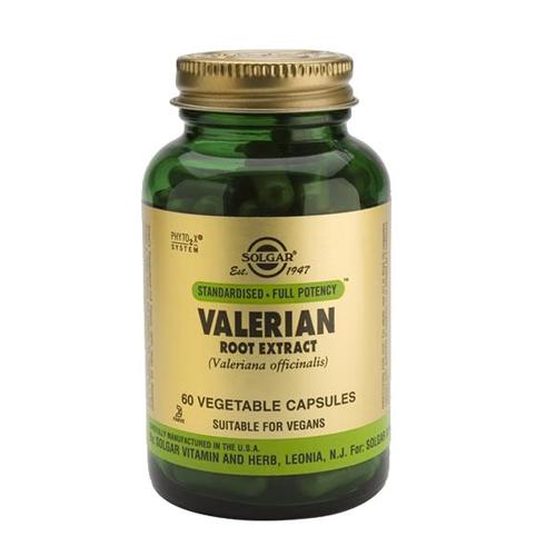 Valeriana - Extrato da Raiz 60 Cápsulas Solgar