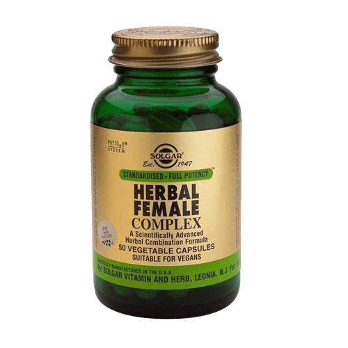Complexo Herbal para Mulher 50 Cápsulas Solgar