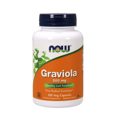 Graviola Forte 500mg 100 Cápsulas Now