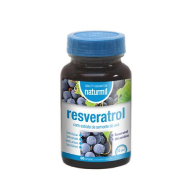 Resveratrol 400mg - 60 Cápsulas Naturmil