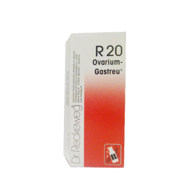 R-20 Gotas 50ml - Disfunções Glandulares Femininas, Obesidade - Dr. Reckeweg