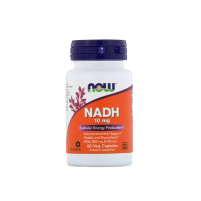 NADH 10mg - 60 Cápsulas Now