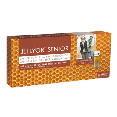 Jellyor Senior 20 Ampolas Eladiet