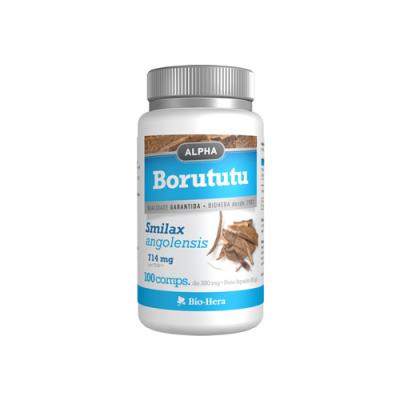 Alpha Borututu 714mg - 100 Comprimidos Bio-Hera