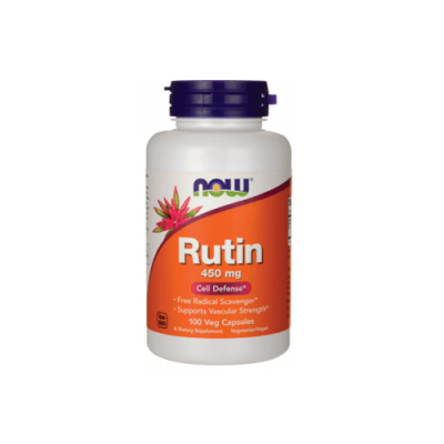 Rutin 450mg - 100 Cápsulas Now