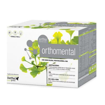 Orthomental 30 Comprimidos + 30 Cápsulas + 30 Carteiras Dietmed