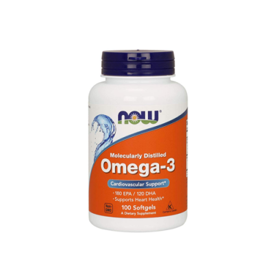 Omega 3 - 100 Cápsulas Now