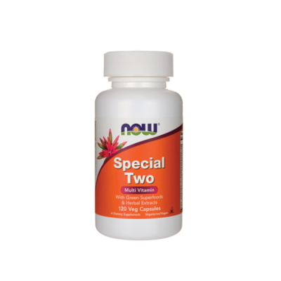 Special Two Multivitamínico - 120 Cápsulas Now