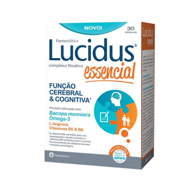 Lucidus Essencial - 30 Cápsulas Farmodiética