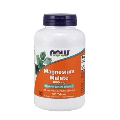 Magnesium Malate 1000mg - 180 Comprimidos Now