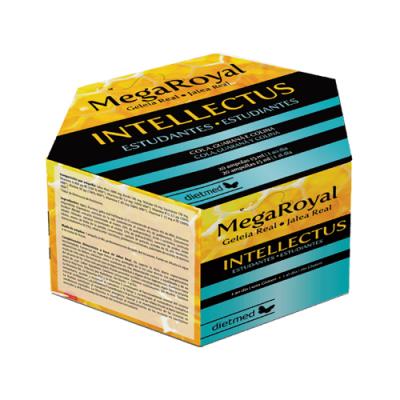 Mega Royal Intellectus - 20 ampolas Dietmed