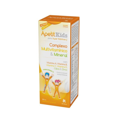 Apetit Kids Complexo Multivitamínico & Mineral 250ml Bio-Hera