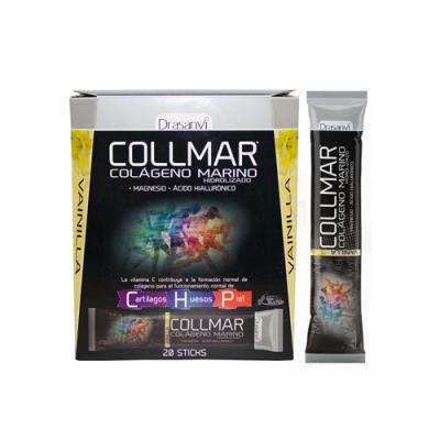 Collmar Colagénio Cartilagem, Ossos e Pele - Baunilha 20 Saquetas Drasanvi