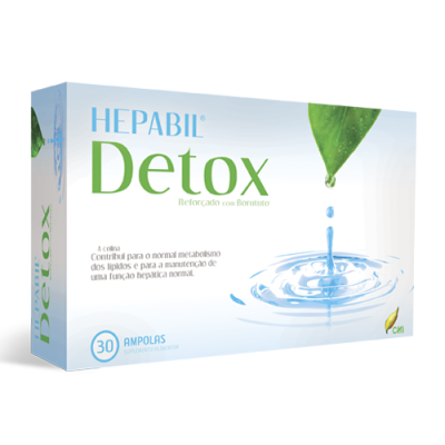 Hepabil Detox 30 Ampolas CHI